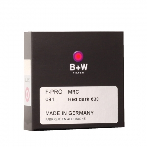 B+W Filtr DARK RED 091 MRC 37mm